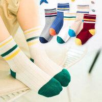儿童袜子春秋婴儿宝宝童袜男童女童小中大童厚款棉袜中筒袜子