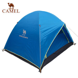 camel骆驼户外帐篷 单层三人野营用品帐篷3SC5001