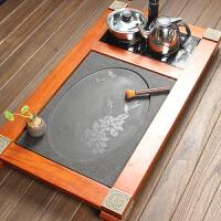 尚帝 花梨 乌金石三合一茶盘 排水式茶盘140506-031DYPG