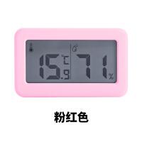 温度计 简约电子数字温湿度计婴儿房浴室家用温度计器室内干湿度表