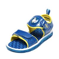 鞋柜童鞋 大白系列男中童凉鞋防滑耐磨儿童凉鞋-tt