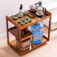 茶桌家用小茶台迷你移动茶几茶车客厅阳台烧水泡茶柜茶具收纳架子