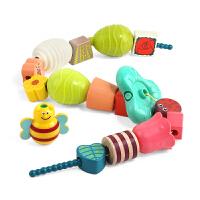 特���� ��意串珠�和�玩具�e木益智玩具穿�K早教手工幼�捍├K120444