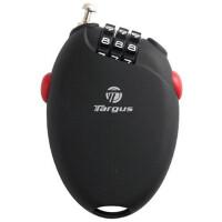 Targus美国泰格斯 便携伸缩式笔记本密码锁 泰格斯笔记本锁 笔记本电脑锁asp01
