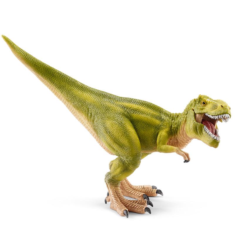 [当当自营]Schleich 思乐 恐龙系列 霸王龙 浅绿色 S14528 【当当自营】仿真塑胶模型 收藏玩具 高级动物模型公仔