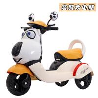 新款儿童三轮车电动摩托车男女宝宝卡通小孩玩具车大号电瓶童车ZTzf05