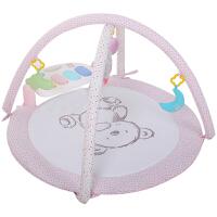 婴儿躺着玩具 新生婴儿脚踏钢琴健身架器毯音乐玩具宝宝早教0-3-6-18个月母婴