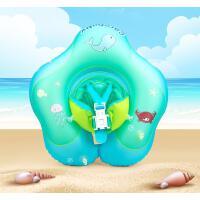 婴儿游泳圈趴圈腋下0-1-3岁新生幼儿童宝宝家用防翻背心式