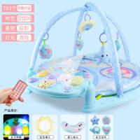 婴儿玩具早教知识音乐灯光星空投影宝宝健身架脚踏琴