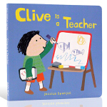 英文原版绘本 Clive is a Teacherr Clive's Jobs Jessica Spanyol 儿童启
