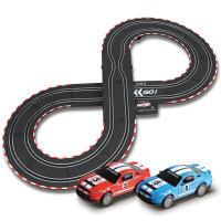 音速风暴 轨道赛车 电动遥控轨道汽车 儿童玩具套装 2.6米双人手摇控制TR-04