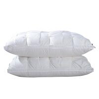 酒店床上用品羽绒枕头面包枕立体枕芯t定制