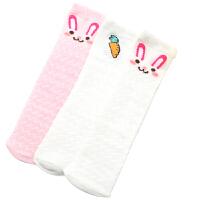 儿童袜子夏季薄款网眼女童婴儿宝宝长筒袜夏天过膝公主袜