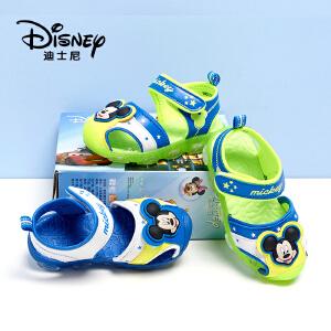 【达芙妮超品日 2件3折】disney/迪士尼男小童休闲凉鞋包头防撞耐磨儿童凉鞋1116323430