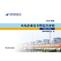 火电企业安全性综合评价 锅炉分册(2016年版)