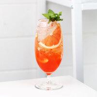ins网红咖啡厅冷饮杯 果汁杯拿铁杯苏打水杯高颜值少女心玻璃杯子 450mL