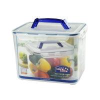 乐扣乐扣保鲜盒塑料储物盒HPL885 9.6L微波餐盒饭盒便当盒 透明