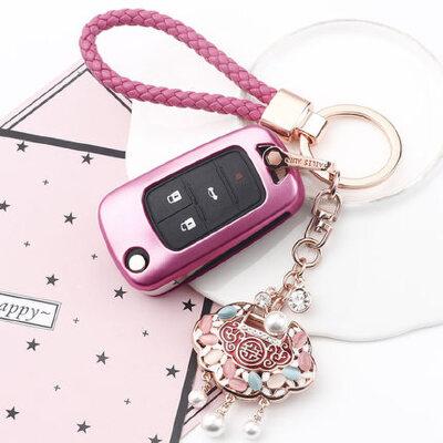适用于别克钥匙包 套汽车钥匙壳扣英朗GT新XT君越女昂科拉GL8君威