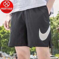 NIKE/耐克男裤新款宽松舒适透气休闲五分裤跑步健身训练运动短裤CZ6371-010