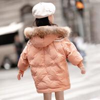 女童外套�和�羽�q童�b冬�b女棉�\棉衣