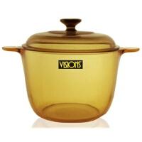 康宁 晶彩透明深汤锅 玻璃锅 VS-3.5 透明玻璃煮锅 炖锅 煲汤锅