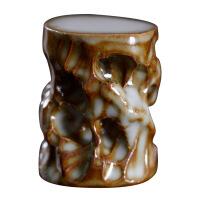 一禅茶事 景德镇手工陶瓷盖置 太湖石茶壶盖置 茶席摆件茶宠 图片色