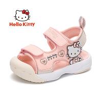 【秒杀价:89元】HelloKitty凯蒂猫童鞋女童凉鞋2020夏季儿童公主露趾沙滩鞋中小童运动凉K0525901