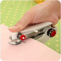 家用多功能便携迷你小型缝纫机简易吃厚手持电动袖珍手工裁缝机