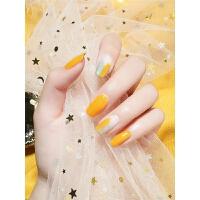 美甲指甲油胶黄色明黄正黄大黄金黄姜黄奶黄鹅黄色
