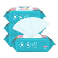 蓝漂 六只小虎婴儿清润柔肤湿纸巾4包 60片/包