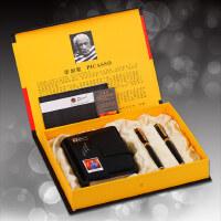 毕加索5501黑色卡包套装书法钢笔铱金笔情侣对笔宝珠笔商务礼品笔