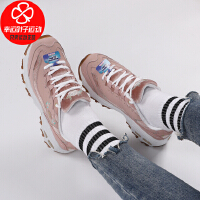 Skechers/斯凯奇女鞋新款低帮运动鞋复古厚底熊猫鞋舒适透气防滑耐磨休闲鞋13084-ROS