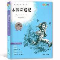 青少年成长必读丛书 青少彩插版 木偶奇遇记 [意大利]科洛迪/著 无障碍阅读 上海大学出版社