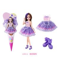 芭比娃娃套装女孩公主仿真过家家洋娃娃儿童玩具生日礼物 【好玩又好看】升级发丝 百变造型
