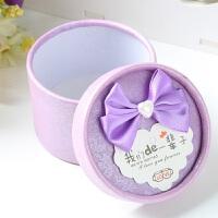 结婚用品 圆筒喜糖盒子欧式创意糖果盒 婚礼个性喜糖盒 小号100个