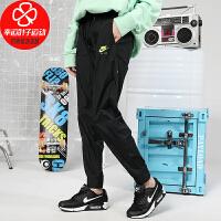 Nike/耐克女裤新款宽松舒适透气休闲裤束口小脚裤跑步健身运动长裤CU3064-010