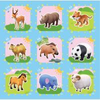 儿童接拼地垫卡通宝宝爬行垫儿童拼图泡沫地垫拼接铺地板卧室泡沫垫子家用地毯 16种图案随机发货