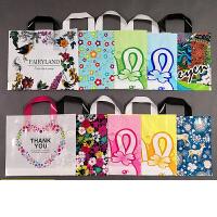 包装袋礼品袋手提袋批发塑料服装袋服装店袋子礼品袋定制logo抖音50个
