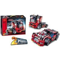 3360��型�道卡�炫酷��科技拼�b�e木模型玩具男孩 卡�-�� 2合1+拆件器