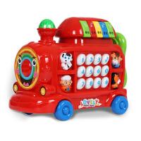 玩婴儿玩具火车幼儿童音乐早教0-1岁宝宝玩具电话机3岁小孩6个月1