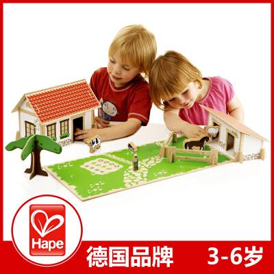 [当当自营]Hape EDUCO 木制儿童益智玩具 我的农场 德国品牌 702773支持货到付款 当当自营 节日送礼 礼物 玩具
