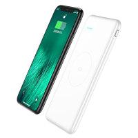 m20000无线充电宝iphoneX移动电源1W毫安苹果8小米便携三星S8