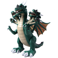 文盛  会走路发声电动恐龙玩具  儿童动物玩具模型 七头龙5311