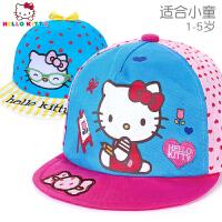 【秒杀价:18元】HelloKitty凯蒂猫儿童帽子宝宝鸭舌帽遮阳防晒小童女孩夏季卡通