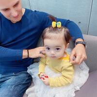 婴儿皮筋 不伤发可爱布艺女宝宝扎啾啾橡皮筋头绳 儿童发饰