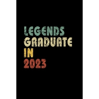 【预订】Legends graduate in 2023: Vintage Composition Notebook F