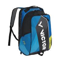 威克多VICTOR BR7009羽毛球包 专业PRO系列比赛款羽网两用双肩背包