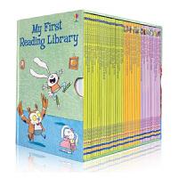 My First Reading Library 50册盒装我的第1一个图书馆套装 送音频 英文原版 儿童图文故事书 分级阅读 华丽插图和浅显易懂的故事情节 我的图书馆系列