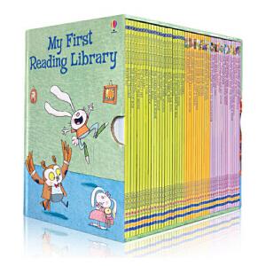(领券立减30)My First Reading Library 50册盒装我的第1一个图书馆套装 送音频 英文原版 儿童图文故事书 分级阅读 华丽插图和浅显易懂的故事情节 我的图书馆系列