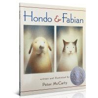 Hondo and Fabian 红豆与菲比 2003年凯迪克银奖绘本 儿童英文原版绘本读物